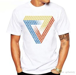 Mens Tees Australia - Mens Designer Sweatshirt Round Neck Mens t-shirt tee Mens womens tee Hip-hop 3D Cube Tees Casual TShirts Designer Print tees S-XXX L