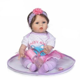 China Reborn Baby With High Quailty Fiber Hair And Soft Real Touch Cloth Body Very Cute Clothes Doll Toys For Children cheap real body toy suppliers