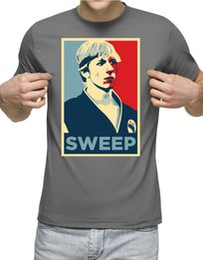 T-shirt Sweep The Leg Karate Kid Cobra Kai Miyagi Do Bonsai Tree T-shirt grigia Kung-Fu 2 jersey