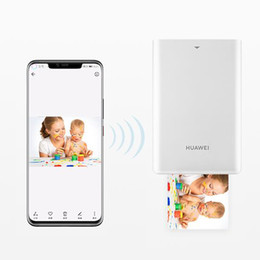 Wholesale HUAWEI Zink CV80 Pocket Portable AR Photo Printer Blutooth 4.1 300dpi Mini Wireless Phone Photos Printer