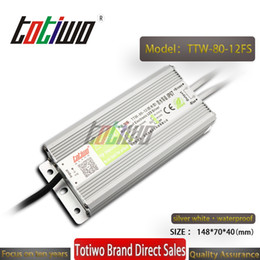 $enCountryForm.capitalKeyWord Australia - TOTIWO IP67 Waterproof AC110V AC220V to DC 12V 6.67A 80W Switching SMPS Power Supply LED Driver Waterproof Transformers constant voltage