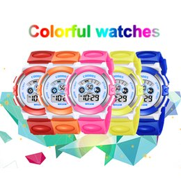 $enCountryForm.capitalKeyWord Australia - Fashion Children's Watch Multi-function Electronic Rubber Wrist Watch Luminous Boy Girl Waterproof Student Sports for Kids