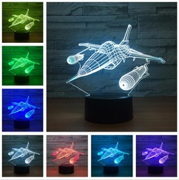gift throw Australia - Flying Mini Foam Throwing Glider Inertia LED Night Aircraft Model Toy Light Smart 7 Colors Change Lamp Child Kids Boys Bedroom Decor Gifts