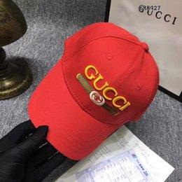 Fallen Hats Australia - Top Sale luxury designer Cap Snapback Baseball Caps Leisure Adjustable Snapbacks Hats Casquette outdoor golf sports dad hat