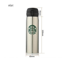 $enCountryForm.capitalKeyWord Australia - 6Colors Starbucks Thermos Cup 450ml Vacuum Flasks Thermos Stainless Steel Insulated Thermos Cup Coffee Mug Travel Drink Bottle