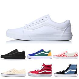 6dcc29d07d Black Van Shoes Australia - Vans Authentic Old Skool Canvas Sneakers Fear  of God Classic Slip