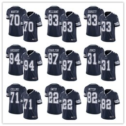 Custom Dallas Jersey Cowboys 12 Roger Staubach 54 Jaylon Smith 13 Michael  Gallup 10 Ryan Switzer 70 Zack Martin football jersey 144f8b1a9