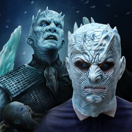 $enCountryForm.capitalKeyWord Australia - New Hot Movie Game Of Thrones Halloween Mask Night's King Walker Face NIGHT RE Zombie Latex Mask Cosplay Costume Party Mask Home Decoration