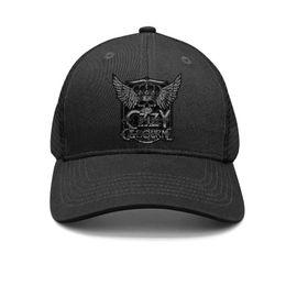 $enCountryForm.capitalKeyWord Australia - Men Womens Ozzy Osbourne Winged Crowned Skull Snapback Trucker Cap Casual All Cotton Mesh Caps Printed Adult Hat