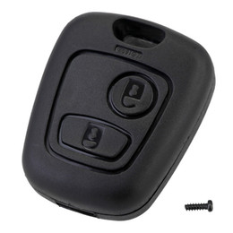 peugeot key fob replacement NZ - 2 Button Remote Key Car Key Fob Case Replacement Shell Cover For Citroen C1 C2 C3 C4 Xsara Picasso For Peugeot 307 107 207 407