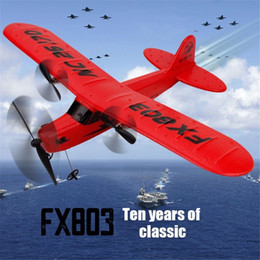 rc toy gliders NZ - 2.4G RC Plane Airplane Radio Remote Control Glider Aircraft Model Boys Toy Gift