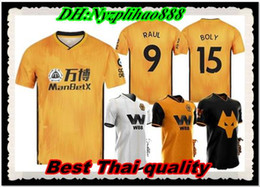 2019 2020 Wolves NEVES RAUL home Camisolas de Futebol Adulto 19 20 Wolverhampton Wanderers camisas de futebol Doherty DIOGO J. maillots de foot on Sale