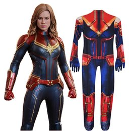 $enCountryForm.capitalKeyWord Australia - Halloween surprise captain cosplay costume tight jumpsuit surprise captain children's clothing affordable and cheap, fabric comfort.