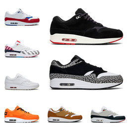 $enCountryForm.capitalKeyWord NZ - Hot sale men women running shoes 1 Puerto Rico Parra white Patch fashion 87 mens trainers sports sneakers jogging walking size 36-45
