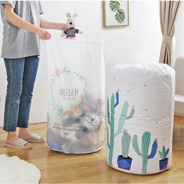 Packing Clothes For Storage NZ - Home Large Organizer storage bag Clothes Packaging Toy packing Bag Quilt Closet Clothing Luggage For Pillow Blanket Bedding