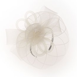 $enCountryForm.capitalKeyWord UK - 2019 vintage feather mesh hat tops banquet party bride hair accessories explosions veil hairpin simple and generous