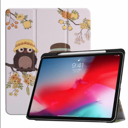 """$enCountryForm.capitalKeyWord NZ - Case For New iPad Pro 11"""" 2018 With Pencil Holder Smart PU+ PC Leather Trifold Stand Hard Back For iPad Pro 11 inch Cover+pen"""