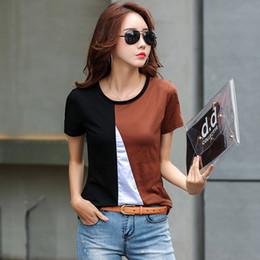 d93e24ebc5 korean clothes 2019 harajuku tshirt plus size women Short Office Lady  O-Neck womens clothing
