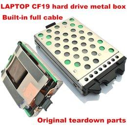 Laptop cf19 sabit disk sürücüsü SATA HDD Caddy Toughbook CF-19 CF 19 CF19 SATA HDD Sabit Disk Sürücüsü Vaka Caddy ile Kablo Adaptörü