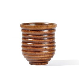 $enCountryForm.capitalKeyWord Australia - 20pcs Wooden Cup Log Color Handmade Natural Wood Coffee Tea Beer Juice Milk Mug Dropshipping