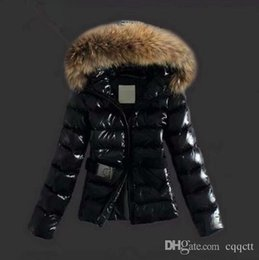 Chinese  Winter Jacket Women Parkas for Coat Fashion Female Down Jacket With a Hood Large Faux Fur Collar Coat 2018 Autumn Outwear Ladies manufacturers