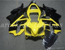 f4i fairings Australia - Hot sales High quality New ABS Motorcycle fairings kits Fit for HONDA CBR600RR F4i 2004 2005 2006 2007 Free custom Yellow Black