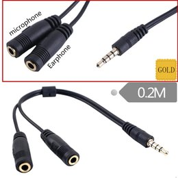 $enCountryForm.capitalKeyWord Australia - Hot Earphone headphone Jack Adapter Converter Cable2 in1 single hole adapteraudio conversion Lighting to 3.5mm revolution adapter line AA191