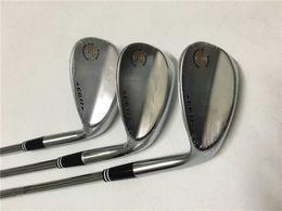 Gloednieuwe CG17 WEDGE CG17 Golfwiggen Golfclubs 52/56/60 Graadstalen schacht met hoofddeksel