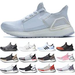 f13b0d3d Adidas 2019 Ultra Boost 19 Hombres Mujeres Zapatillas de running Ultraboost  5.0 Láser Rojo Pixel Oscuro Núcleo Negro Entrenador barato Deporte Zapatilla  de ...