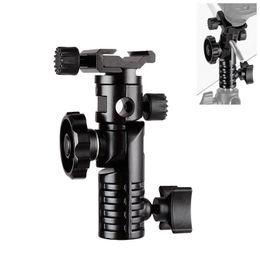 "Flash Hot Shoe Mount Australia - shoe adapter HPUSN Universal Metal Mount Flash Hot Shoe Adapter 1 4"" & 3 8"" for Trigger Umbrella Holder Swivel Light Stand Bracket L2"