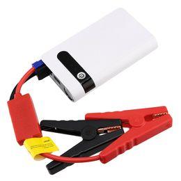 Power bank Portable car charger online shopping - Portable mAh Car Jump Starter Power Bank Vehicle Battery Charger Engine V Universal High Capacity Power Bank