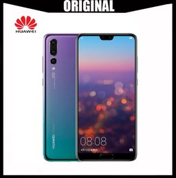 Wholesale Original Huawei P20 Smartphone Android G RAM G G ROM Kirin Face ID Full View Screen Octa Core Mobile