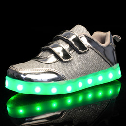 kids winter shoe size 25 Canada - Size 25-37 USB Charging Basket Led Children Shoes With Light Up Kids Casual Boys&Girls Luminous Sneakers Glowing ShoeMX190919