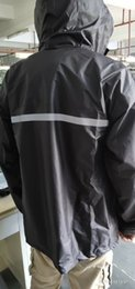 Body Suits Adults Australia - Rainwear and rainpants suit Men's Thickened Waterproof Whole Body Motorcycle Battery Car Separated Adult Hiking Rainwear