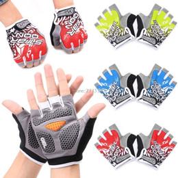 $enCountryForm.capitalKeyWord NZ - GEL Cycling Gloves Bike sport Gloves Bicycle Half Finger Gloves shockproof C19011401