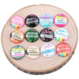 $enCountryForm.capitalKeyWord NZ - mix merci maitresse photo glass cabochon 20mm 25mm round dome diy jewelry findings for pendants necklace making