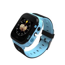 Discount students wrist watch - Children Anti-Lost GPS Smart Watch Kids SOS Call Location Wristwatch Students Safe Guard Watches ND998