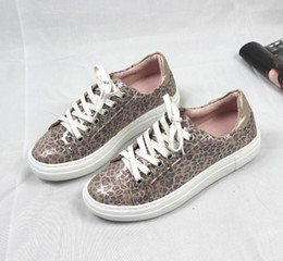 $enCountryForm.capitalKeyWord Australia - Unique2019 Leopard Print Leisure Time Sneakers Woman Flange Pink Colour Student Single Shoehorn Flat Bottom Chalaza Low Help Shoe