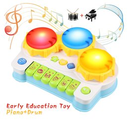 infant drums NZ - Music Toys , Multi-Function Toys Kids Drum , Discover & Play Piano Keyboard, Xylophone Set Electronic Learning Toys for Baby Infant Toddler