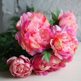 $enCountryForm.capitalKeyWord UK - Artificial peonies bouquet home decoration accessory bunches Big blooms style hydrangeas low price bouquet affordable flower tip GB817