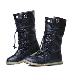 flat soled boots NZ - Hot Sale-Fashion short boots female retro boots wedges Women shoes with warm shoes Botilions on flat soles women. XZ-075