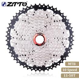 $enCountryForm.capitalKeyWord Australia - ZTTO Mountain Bike MTB 10 Speed Cassette 10 Velocidade 10S 50T Bicycle Parts Cassete Freewheel For K7 Parts XT SLX XO X0 X9 X7