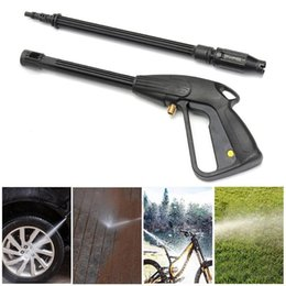 high pressure cleaning guns UK - .High Pressure Power Washer Spray Nozzle Adjustable Water Gun Home Washing Accessorie160 Bar Trigger Jet For Car Garden Clean