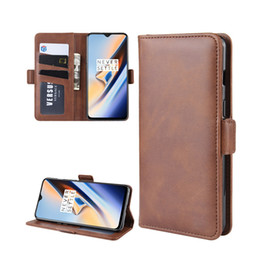 $enCountryForm.capitalKeyWord Canada - For Oneplus 7 One Plus 7 Book Flip Smartphone Wallet PU Leather Cases Most Popular Products High Quality