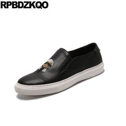black trainers waterproof slip on elevator new sneakers embroidery men  designer runway 2018 skate hidden height increasing shoes 54354a3c7492