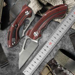 $enCountryForm.capitalKeyWord Australia - TWO SUN TS47 folding Knife Army Hunting D2 blade 60hrc Hardness Survival Knives Essential tool For Self-defense Outdoor gear G10 Pocket EDC