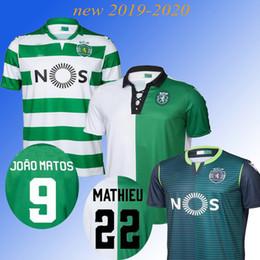 $enCountryForm.capitalKeyWord Australia - Thai quality Sporting home Soccer jersey 19 20 Lisbon Vintage Footbal Shirts 2019 2020 Ronaldo FERNANDES NANI Camisa de futebol Maillot