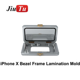 iphone bezel Australia - Screen Bezel Frame Laminating Mold For iphone X Broken Glass Replace Mould in frame laminating mold high accurate