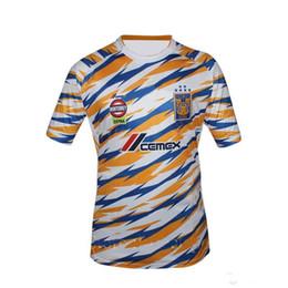 4616a66f3e6 2018 19 Tigers UANL mens Soccer Jersey Mexico Club tigers yellow 6 Stars  GIGNAC Vargas H. Ayala SOSA Football Uniform shirts