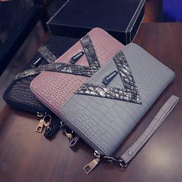 $enCountryForm.capitalKeyWord Australia - 2019 New Pu Long Women Wallet Crocodile Pattern Women's Purse Best Phone Case Wallet Female Coin Purse Money Bag Card Holders